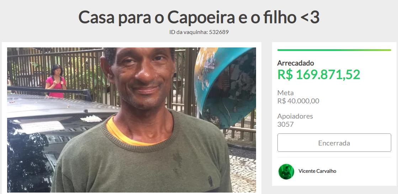 Morre Capoeira, o guardador de carros que emocionou o país com seu gesto de humanidade 2