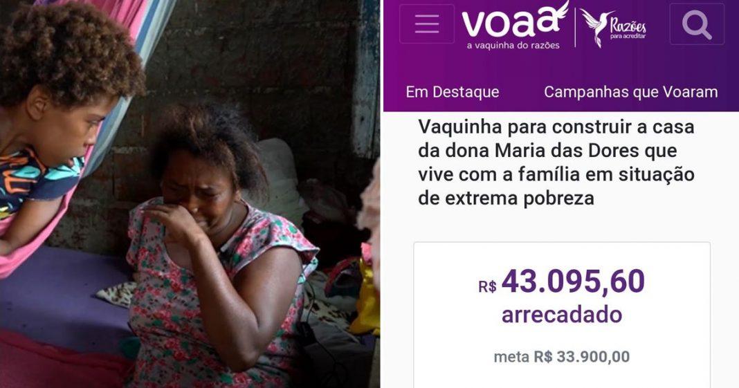 mulher chorando casa periferia sobral ceará