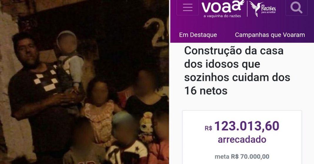 print vaquinha idosos VOAA