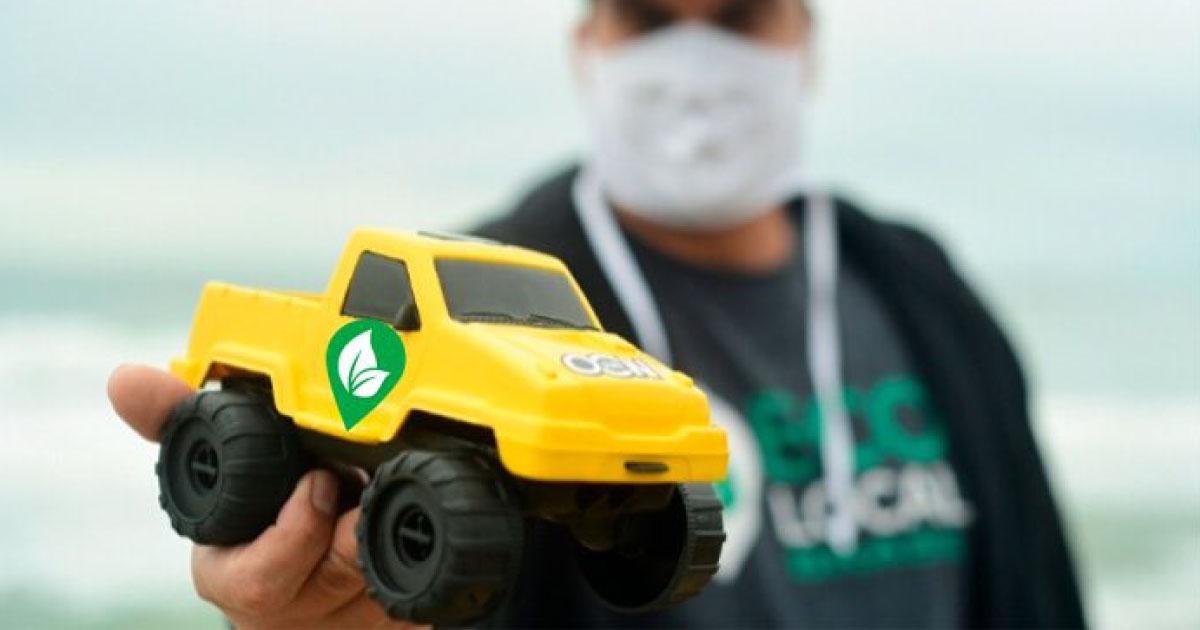 ONG transforma lixo plástico de praias do Sul e Sudeste em brinquedos 2