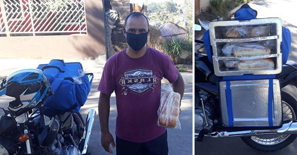 Corrente do Bem. Empresário viraliza história de homem que vende pão depois de ser demitido na pandemia 1