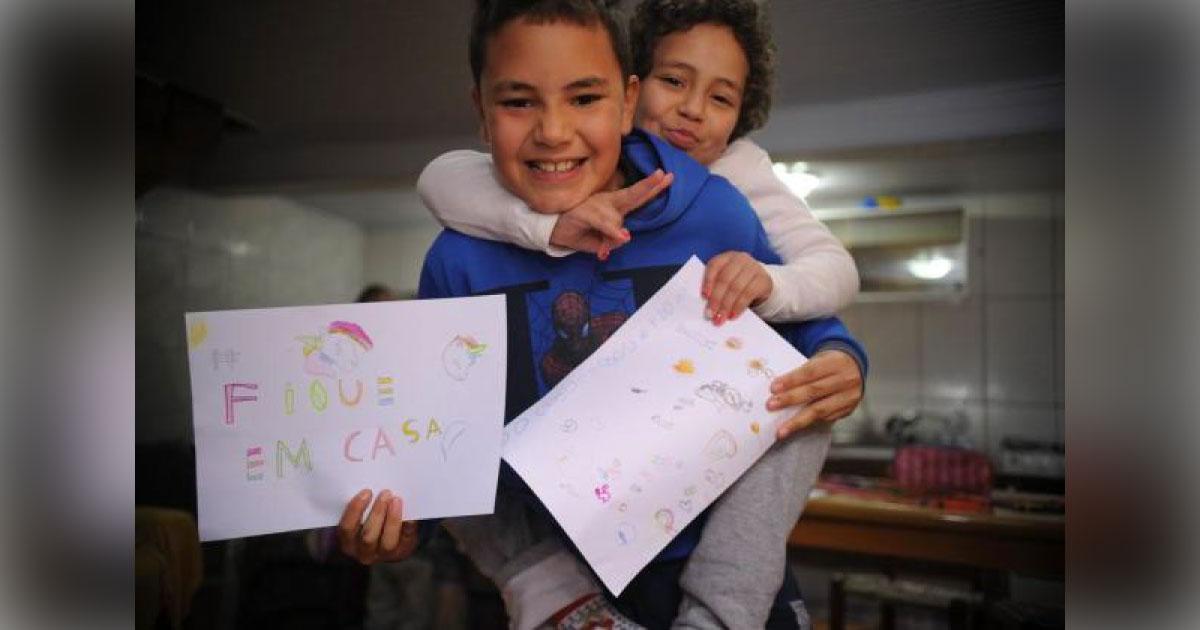 Menina de Caxias celebra recomeço após ser salva por doação de medula do irmão 1