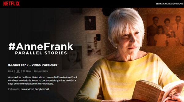 AnneFrank — Vidas paralelas