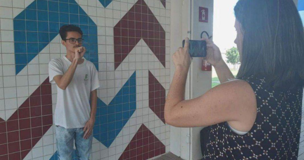 Estudantes do PR vencem concurso da ONU com aplicativo para ensinar matemática em Libras 2