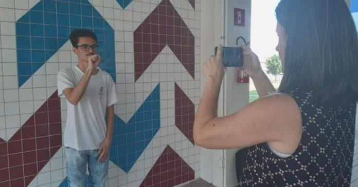 Estudantes do PR vencem concurso da ONU com aplicativo para ensinar matemática em Libras 1