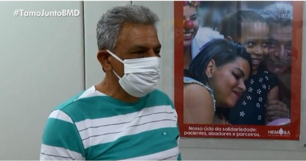 Idoso fez mais de 700 doações de sangue em 49 anos e é homenageado em Salvador 1