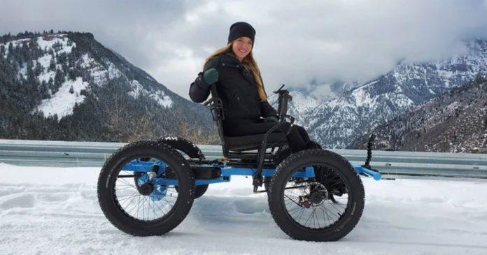 Marido cria cadeira de rodas off-road para a esposa ir a lugares que nunca imaginou 10