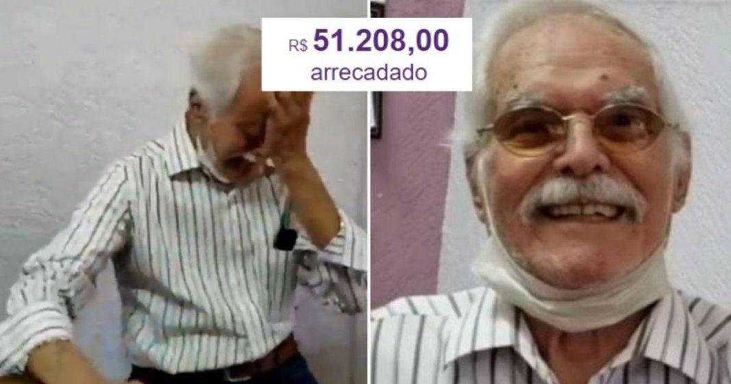 Internautas impedem falência de camisaria de idoso e vaquinha arrecada mais de R$50 mil em menos de 24h 2
