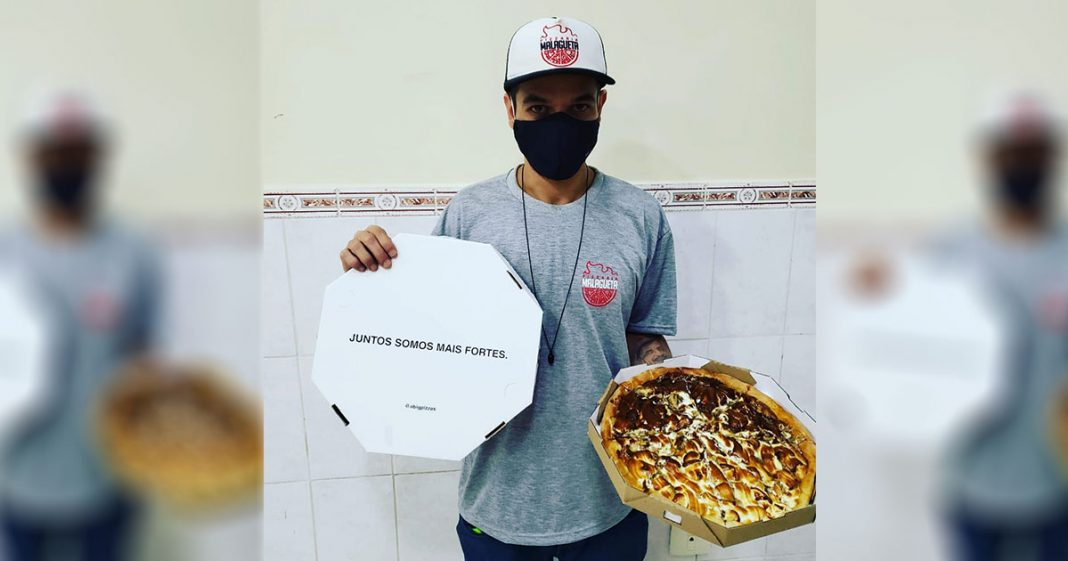 Solidariedade! Pizzaria de SP recebe milhares de pedidos após ser furtada 3