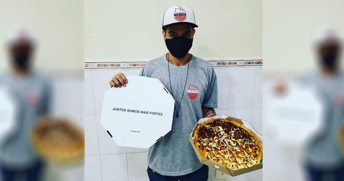 Solidariedade! Pizzaria de SP recebe milhares de pedidos após ser furtada 1