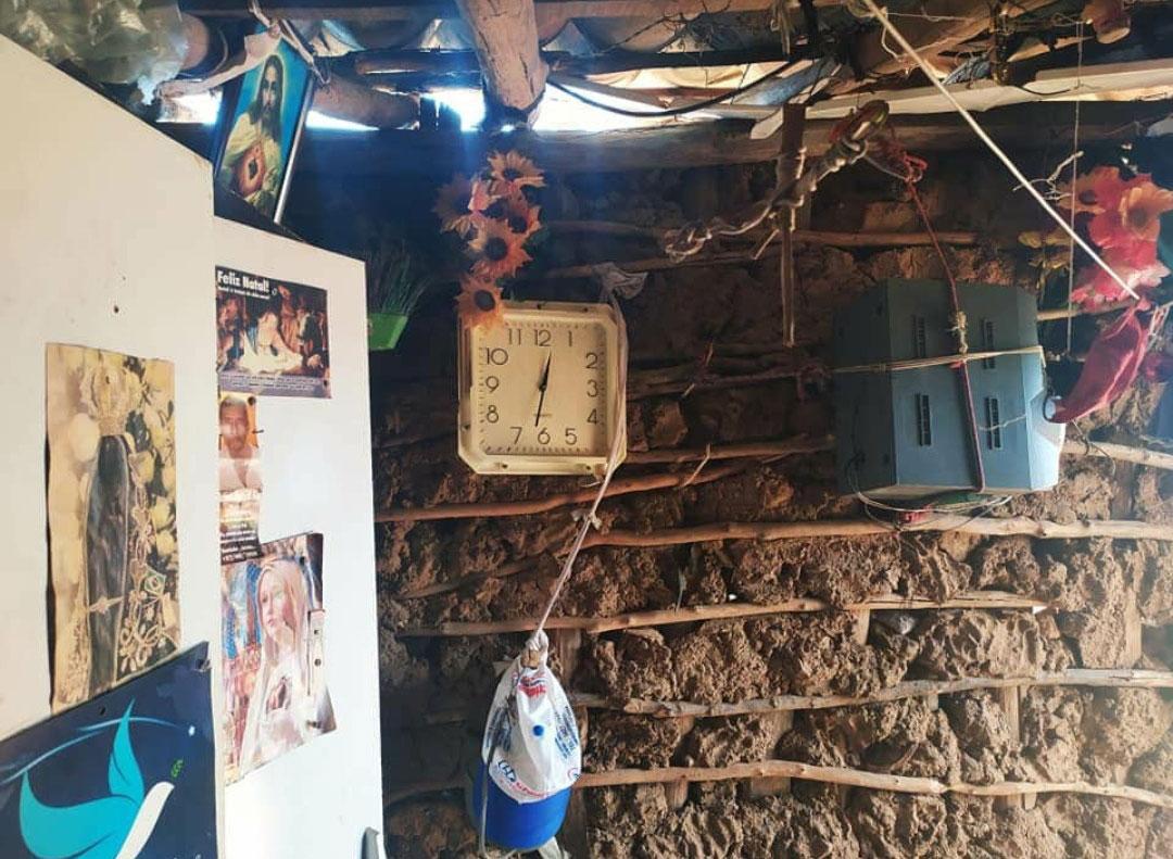 casa barro madeira