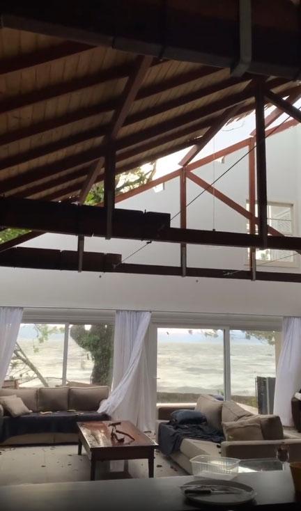 casa destruída ciclone bomba santa catarina