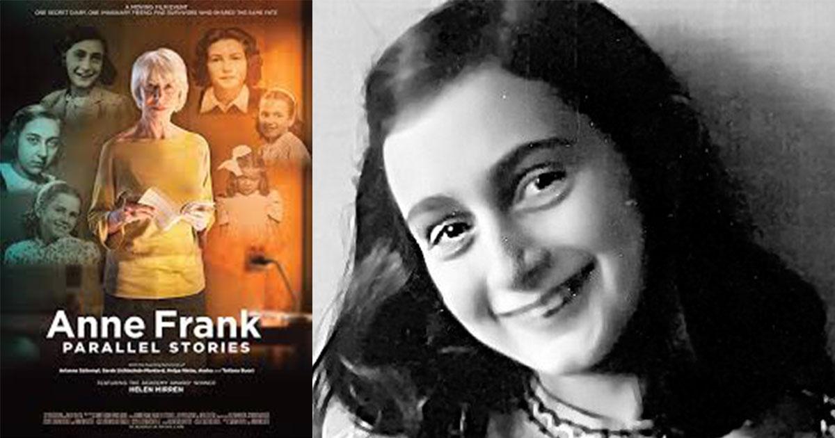 Anne Frank - Vidas Paralelas estreia na Netflix com tributo sincero de Helen Mirren 1