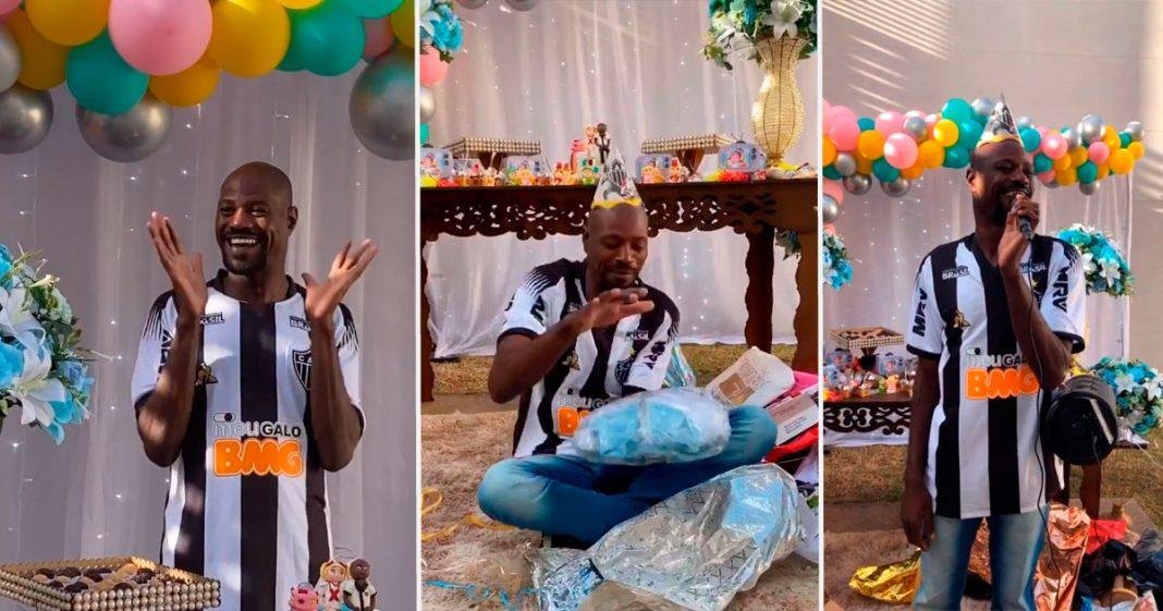 Cabeleireira mobiliza internet e empresas doam presentes para festa surpresa de funcionário da Apae (MG) 2