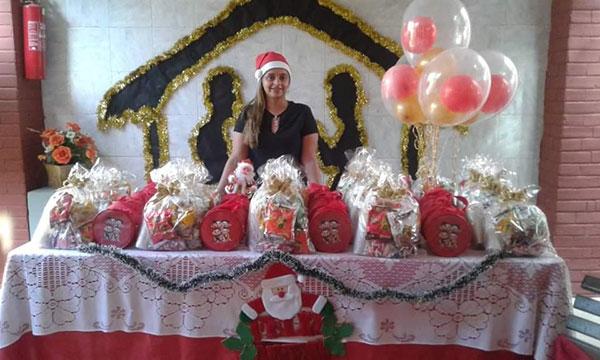 Eleneide em festa de natal