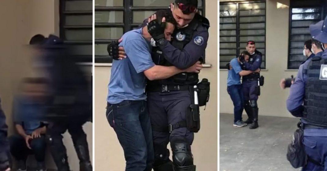 Guardas impedem suicidio