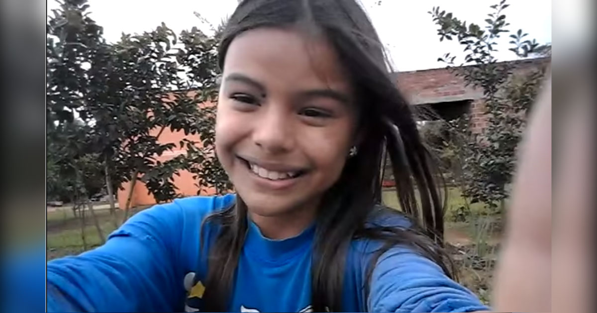Vídeo de menina paraguaia cantando na horta com os avós emociona a web 1
