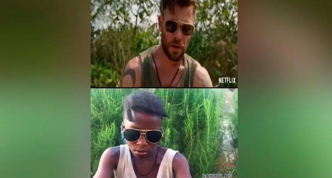 Garotos nigerianos recriam trailers de Hollywood no quintal de casa e viralizam na internet 4
