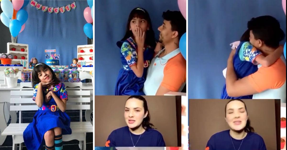 Criança recebe vídeo de parabéns de sua atriz preferida e emociona a todos 12