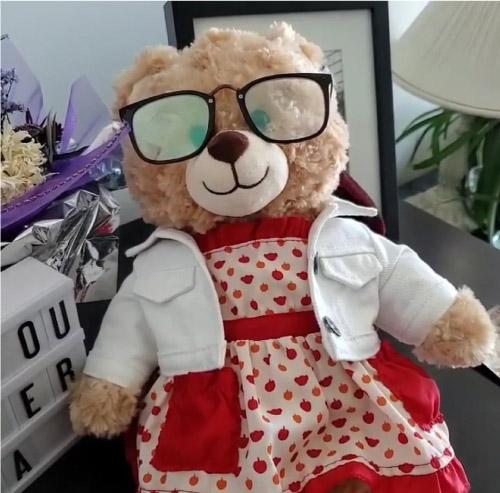 urso de Marilyn que foi roubado
