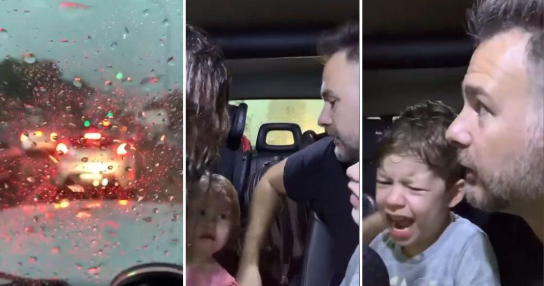 motorista resgata mulher crianças ciclone bomba