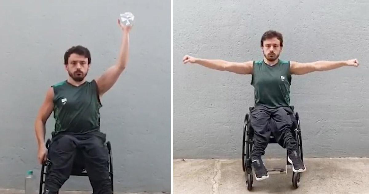 Comitê Paralímpico Brasileiro oferece treinos online grátis para pessoas com deficiência! 1