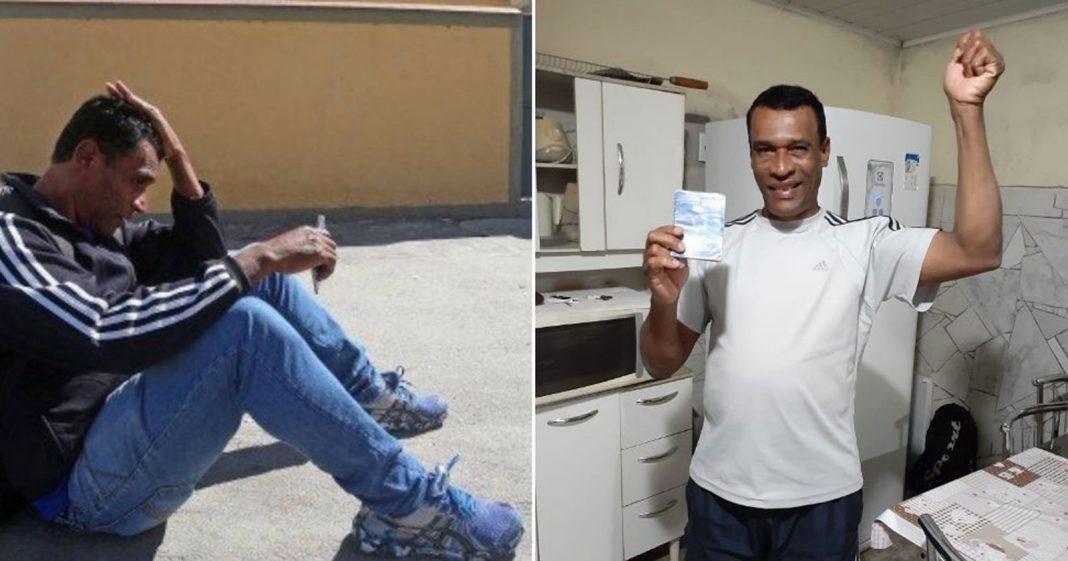 Um ano após ser enganado por falso anúncio de emprego, pedreiro finalmente consegue trabalho! 2