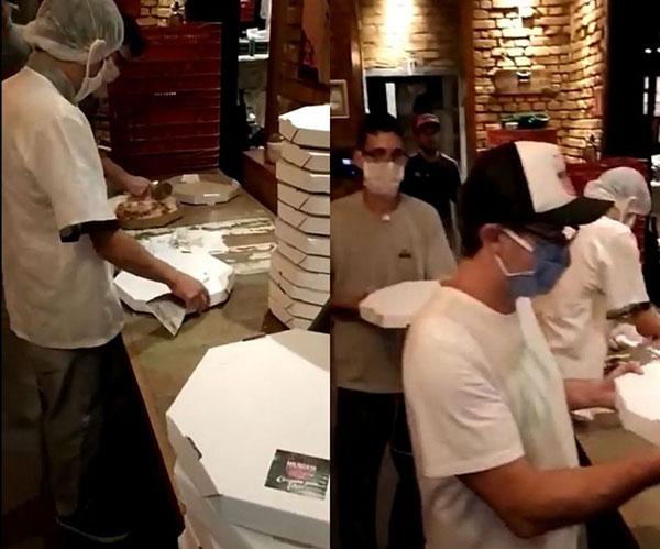 Solidariedade! Pizzaria de SP recebe milhares de pedidos após ser furtada 2