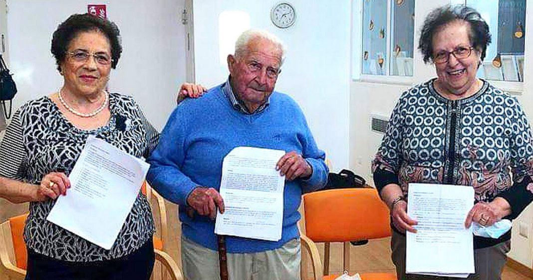 3 avós italianos realizam o sonho de concluir Ensino Médio e nos ensinam a nunca desistir 1