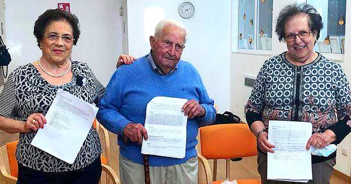 3 avós italianos realizam o sonho de concluir Ensino Médio e nos ensinam a nunca desistir 2