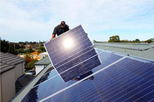 teto de energia solar