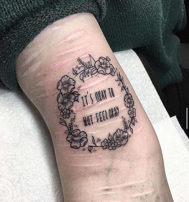 Tatuador de SP se disponibiliza a cobrir cicatrizes de tentativa de suicídio gratuitamente 3