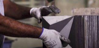 tecnologia transforma emissões de carbono em azulejos