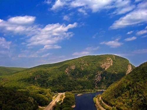 vista do parque nacional