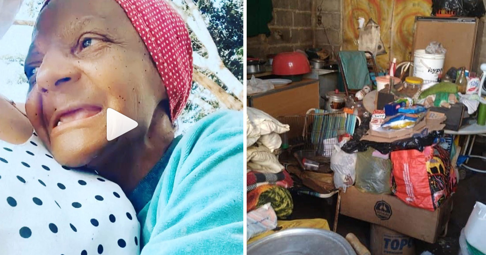 Vizinha mobiliza rede do bem para 'salvar' idosa que vive em condições precárias 2