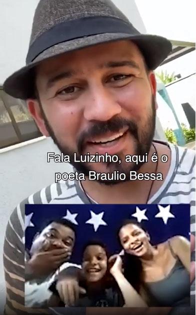 braulio bessa recita poesia menino humilhado chamada vídeo