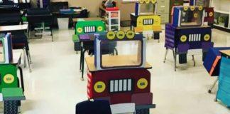 carteira em forma de caminhão