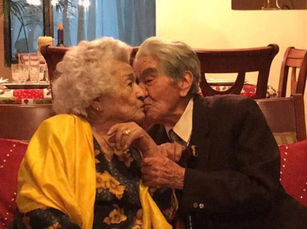 julio e waldramina beijo