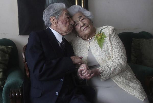 casal idoso mais velho do mundo