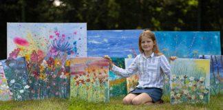 Daisy pinturas