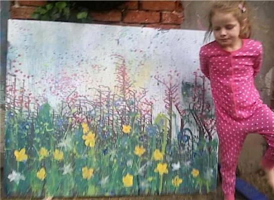 Daisy com seis anos