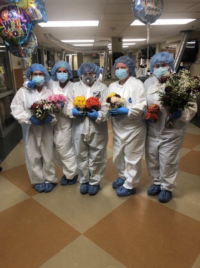 equipe do hospital