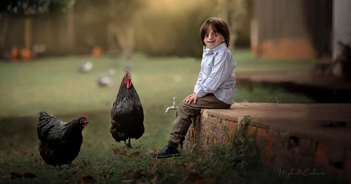 Fotógrafa faz fotos mágicas de crianças com deficiência e conta suas histórias 1