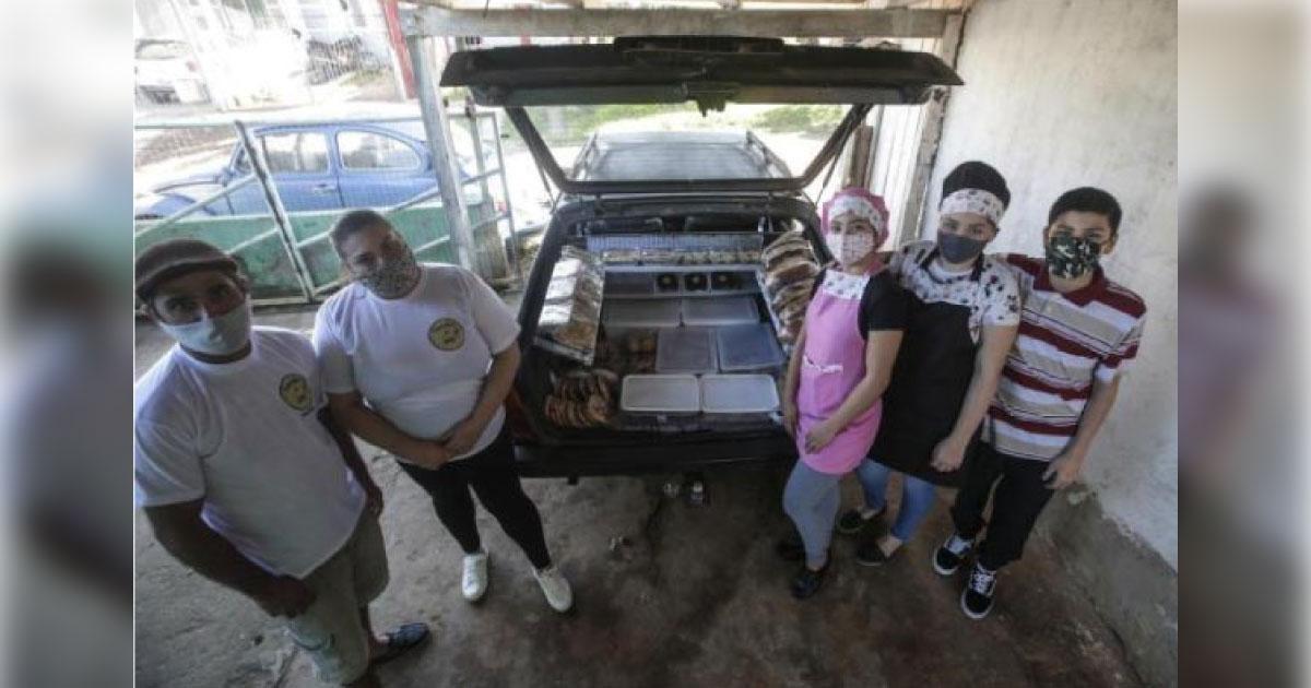 """Família de Gravataí (RS) cria a """"Padaria móvel"""" para manter a renda na pandemia 1"""