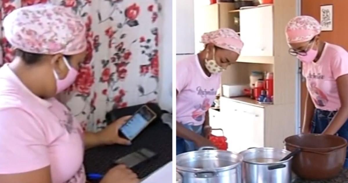 Família usa dinheiro do Auxílio Emergencial para iniciar negócio de quentinha e hoje fatura R$ 6 mil por mês 1