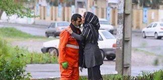 fiilha beijando pai gari