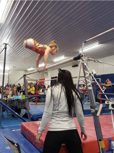 Paige competindo