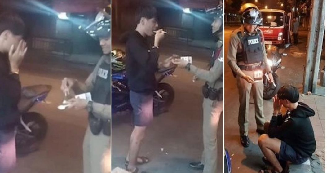 Policial compra bolo de aniversário para jovem que chorava por terem esquecido a data 1