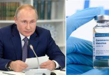 Putin anuncia vacina para covid-19