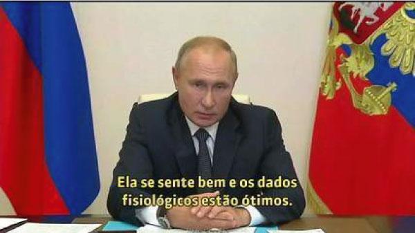 Putin anuncia vacina da covid-10